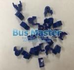 Крючки на шторки синие