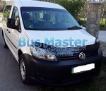 Дефлектор капота (мухобойка)Volkswagen Caddy 2010