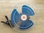 Вентилятор автомобильный двойной 12-24 вольт