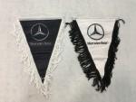 Флажок на лобовое стекло Mercedes