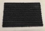 Ковролин на основе серый полосатый 2м ширина