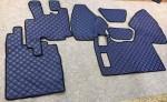 Коврики в салон DAF 95 автомат-механика синие