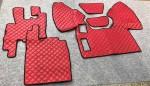 Коврики в салон DAF 95 автомат-механика красные