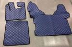 Коврики в салон DAF 105 автомат синие