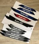 Универсальные резиновые накладки на пороги Audi