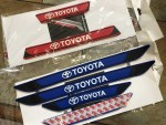 Универсальные резиновые накладки на пороги Toyota