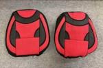 Чехлы на сиденья универсальные красные