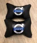 Подушки на подголовник Volvo черные